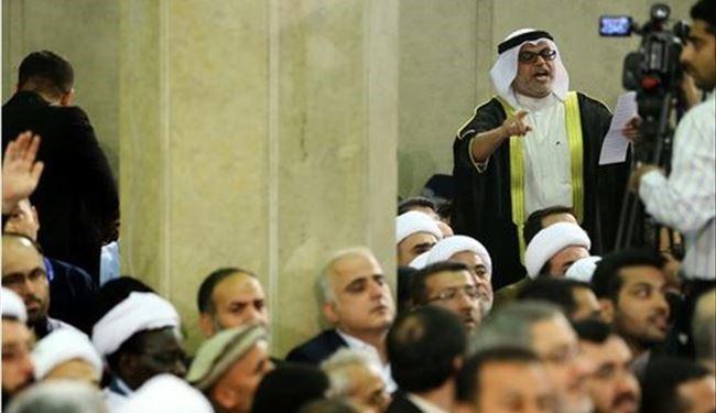 الرادود نزار القطري يلقي قصيدةً في قائد الثورة الإسلامية