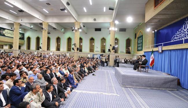 الإمام الخامنئي: الاتفاق النووي اثبت عدم جدوى المحادثات مع الأميركيين
