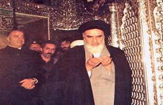 مشاهد نادرة من الإمام الخميني في النجف الأشرف