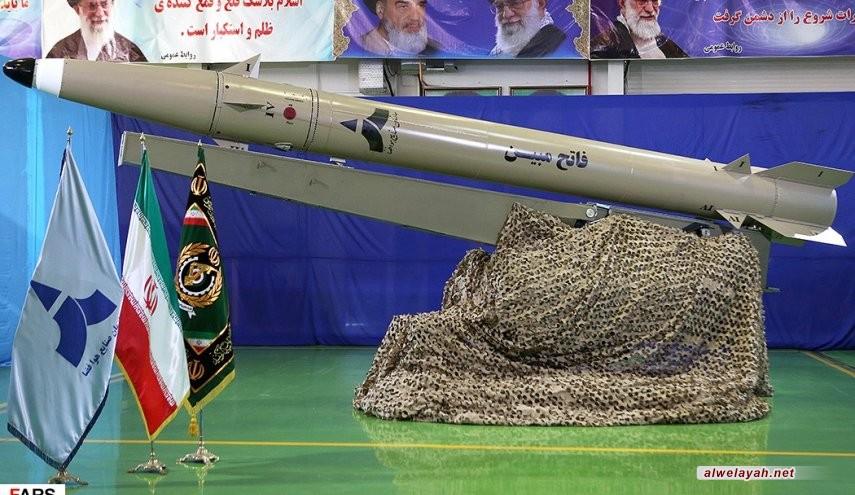 إيران تزيح الستار عن صاروخ ذكي بالغ الدقة