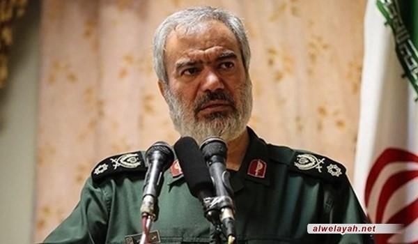 الأدميرال فدوي: الثورة الإسلامية اليوم أقوى بكثير مما مضى