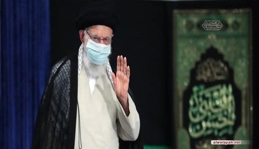 إقامة مراسم العزاء بوفاة الرسول الأعظم (ص) بحضور قائد الثورة