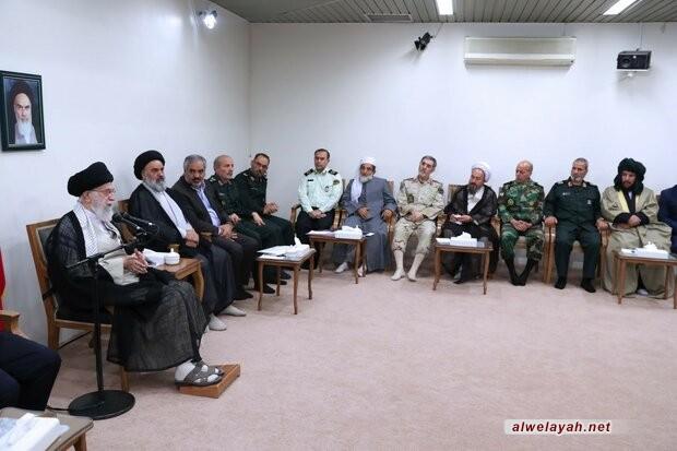 في كلمة منقولة ضمن مؤتمر شهداء كردستان؛ قائد الثورة الإسلامية: الشهادة في كردستان اقترنت بالتضحية والجهاد