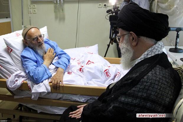 في برقية تعزية؛ قائد الثورة يعزي بوفاة العالم الفيلسوف آية الله حسن زادة آملي