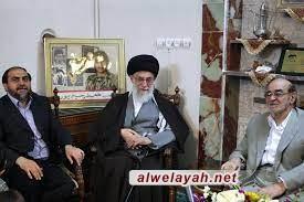 في رسالة تعزية؛ قائد الثورة يعزي بوفاة الحاج حيدر رحيم بور أزغدي
