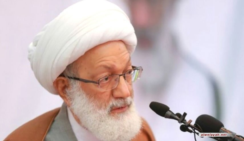 آية الله قاسم: ستَكونونَ قوّةً لا تُقاوَم حينَ تتمسّكون بالإسلام