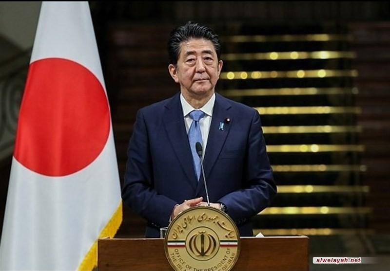 رئيس الوزراء الياباني يشيد بفتوى سماحة قائد الثورة بشأن حرمة السلاح النووي