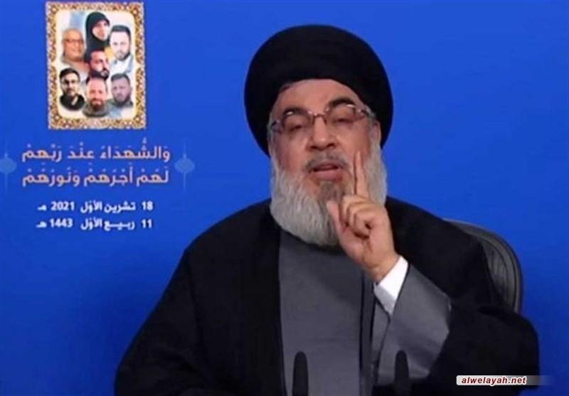 السيد نصر الله: أكبر تهديد للمسيحيين في لبنان هو حزب القوات وهدفه الحرب الأهلية