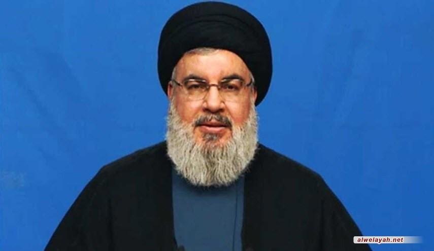 السيد حسن نصر الله: محور المقاومة وقف بوجه المشروع الصهيوأميركي