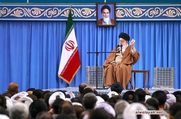 الإمام الخامنئي: العدو الأول لإيران هي أمريكا