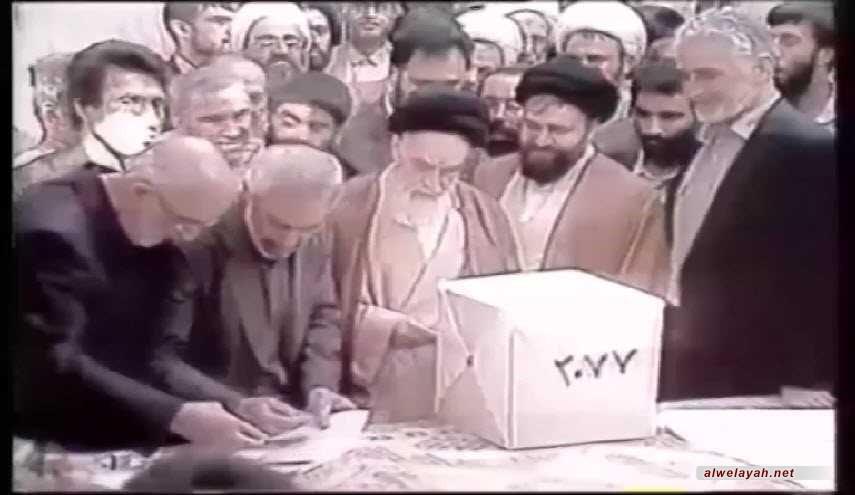 12 فروردين (واحد أبريل) ذكرى يوم الجمهورية الإسلامية في إيران