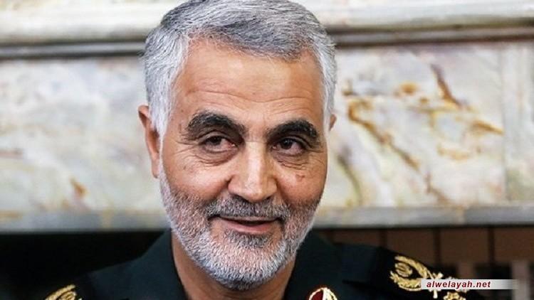 اللواء سليماني: هكذا سنقتص لدماء الشهيد عماد مغنية