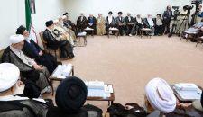 الإمام الخامنئي یستقبل رئیس وأعضاء مجلس خبراء القیادة