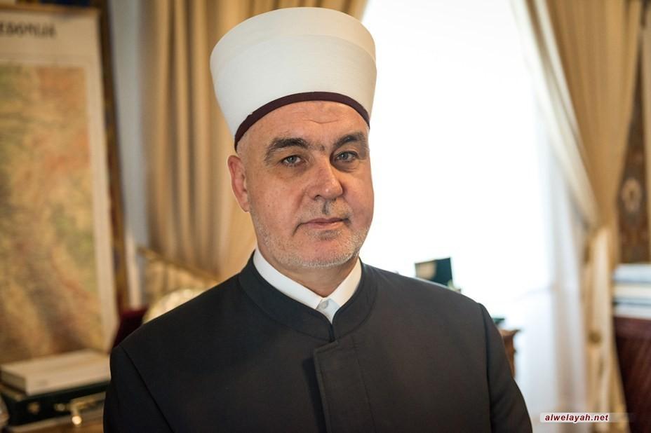 رئيس علماء البوسنة يهنئ قائد الثورة الإسلامية بعيد الأضحى المبارك