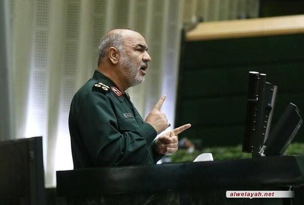 اللواء حسين سلامي: إن ما ننعم به اليوم من أمن، مرهون بالتضحيات التي سطرها الشهداء المدافعين عن المراقد المقدسة