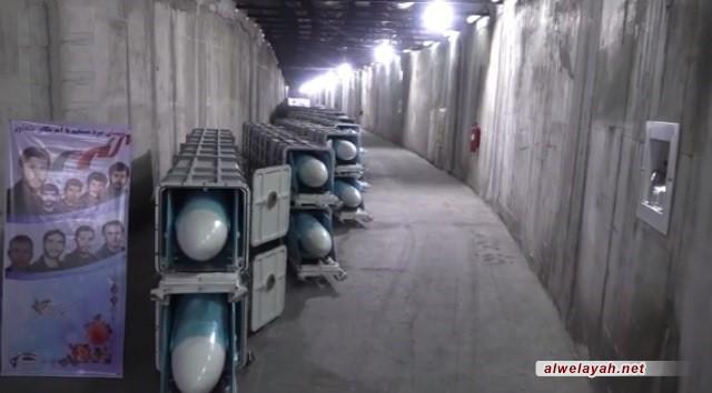 اللواء سلامي يزيح الستار عن احدث قاعدة صاروخية تحت الأرض