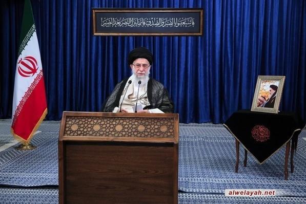 الإمام الخامنئي: القتل والتحريض على الحرب وزعرعة الأمن ديدن الأمريكان في الوقت الحاضر