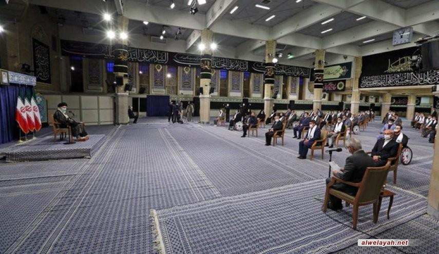 قائد الثورة الإسلامية: عدم الاعتراف بالكيان الصهيوني المجرم في الساحات الرياضية مسألة بالغة الأهمية