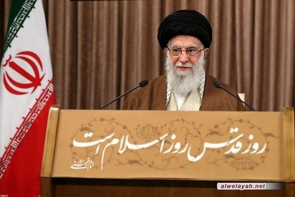 الإمام الخامنئي: إسرائيل ليست دولة إنها معسكر إرهابي ضد الشعب الفلسطيني والدول الإسلامية الأخرى