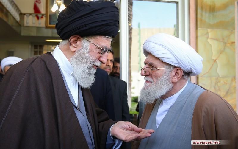 قائد الثورة الإسلامية يعزي بوفاة رئيس المجلس الأعلى لمجمع التقريب بين المذاهب الإسلامية