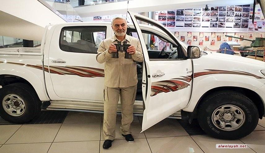 ايران تخلد ذكری الشهيد سليماني في متحف جبهة المقاومة