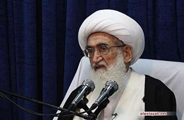 المرجع نوري الهمداني يشيد بإنجازات الحرس الثوري والقوات المسلحة