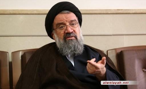 آية الله خاتمي: الصمود في سبيل حفظ الثورة الإسلامية يحتاج إلى الإيثار والتضحية الشاملة