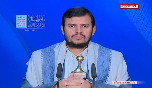 """السید الحوثي يؤكد الاستعداد لكل الخيارات في مواجهة """"إسرائيل """""""