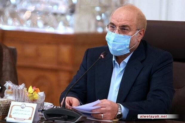 قاليباف: إيعازات قائد الثورة حول الإصلاحات الاقتصادية أولوية نشاطات البرلمان