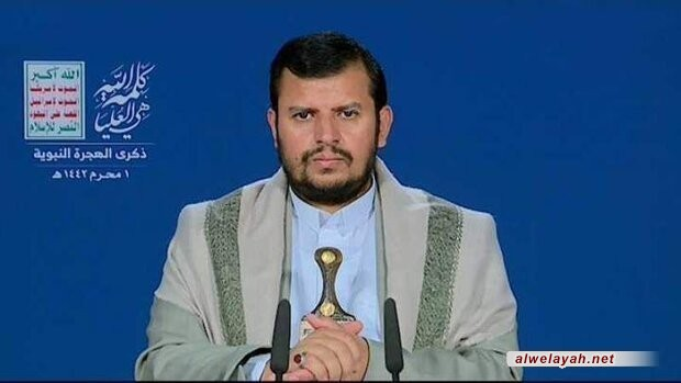 """السيد عبد الملك الحوثي: أمريكا و""""إسرائيل"""" تستغلان المطبعين وهم في موقع الخاسر"""