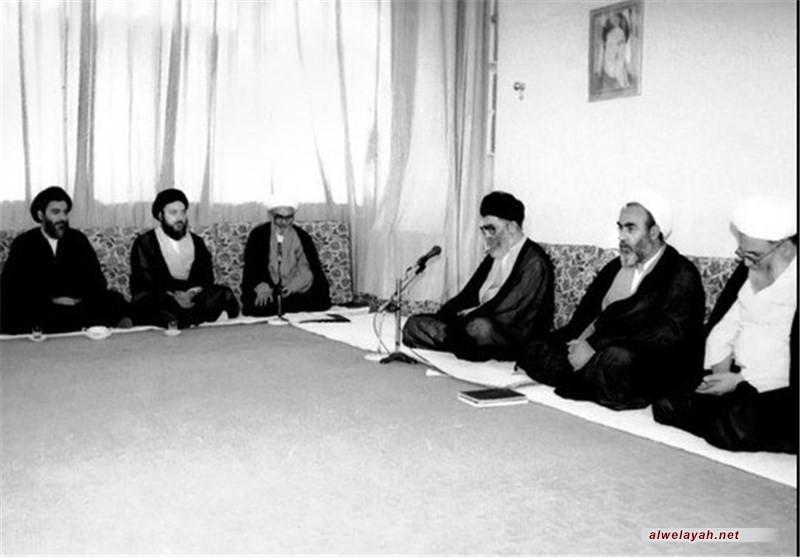 في ذكرى استشهاده؛ بيان سماحة ال الخامنئي بمناسبة استشهاد آية الله الحكيم1/رجب/1424