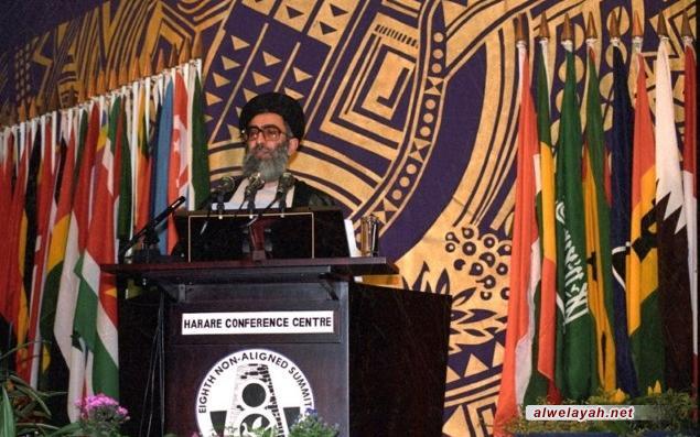 صراحة الإمام الخامنئي التي أذهلت رؤساء دول عدم الانحياز