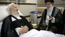 الإمام الخامنئي يزور آية الله العظمى مكارم الشيرازي في المستشفى+صور