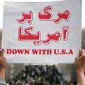 """""""الموت لأمريكا"""" شعار الثورة الإسلامية الأيديولوجية"""